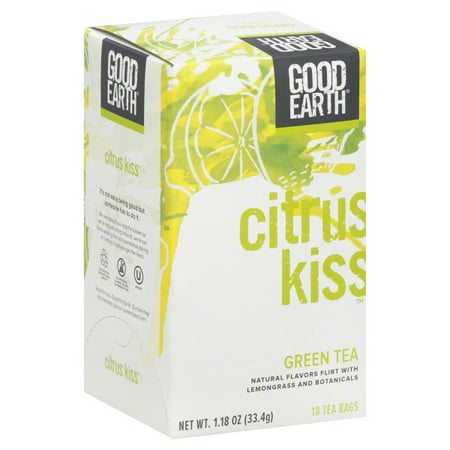 Good Earth Teas Good Earth  Green Tea, 18 ea