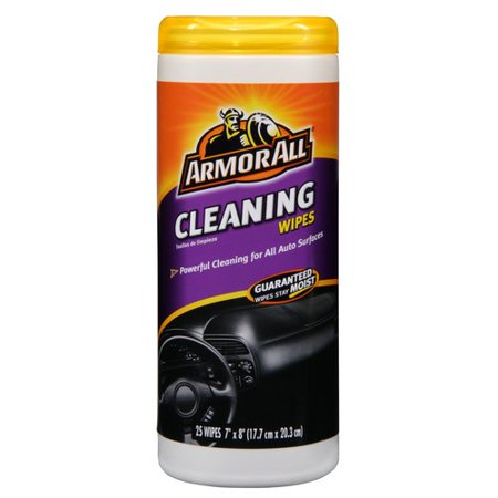 Armor All Cleaning Wipes Canister  25 Count