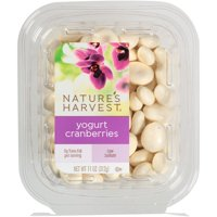 Nature's Harvest Yogurt Cranberries, 11 oz
