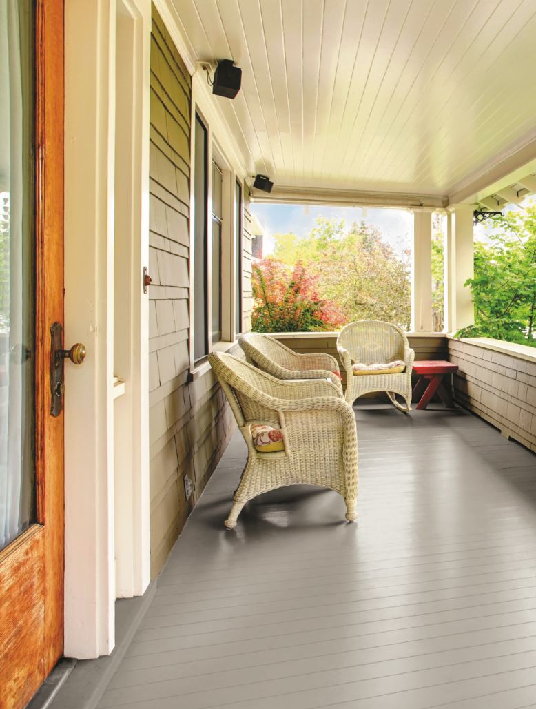 Glidden Porch & Floor Paint and Primer, Grab-N-Go, Satin Finish ...