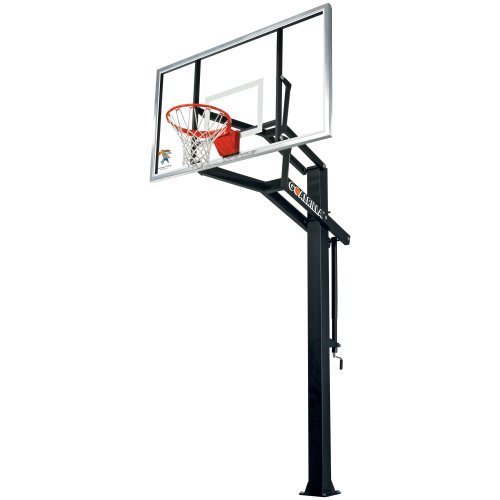 Goalrilla GS-1 Basketball System - 72 Inch Tempered Glass Backboard