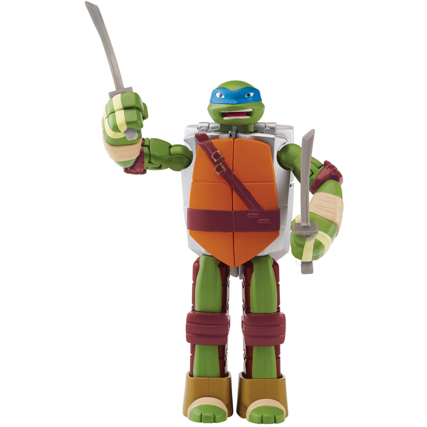 Teenage Mutant Ninja Turtles Mutations Figure to Weapon, Leonardo to Katana