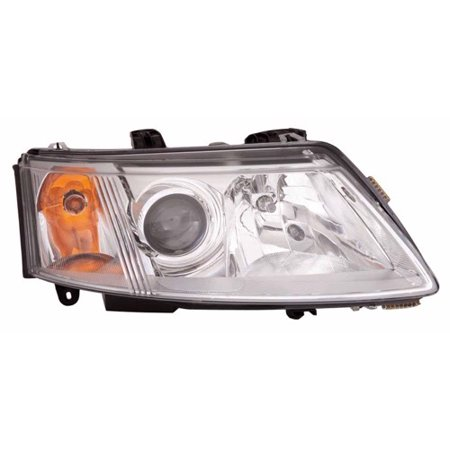 Go-Parts » 2003 - 2007 Saab 9-3 Front Headlight Headlamp Assembly Front Housing / Lens / Cover - Right (Passenger) Side - (4 Door; Sedan) 12 799 352 SB2503109 Replacement For Saab 9-3