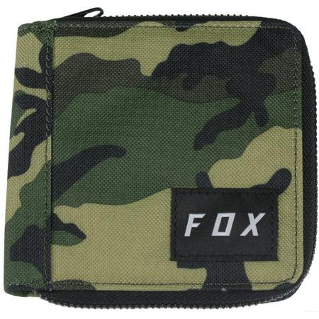 Fox Racing Unisex Machinist Zip Wallet - Camo (Fox Racing Camo)