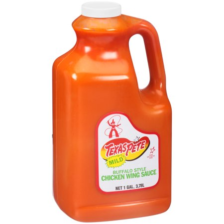 Texas Pete, Buffalo Style Mild Chicken Wing Sauce, 1 Gallon (4