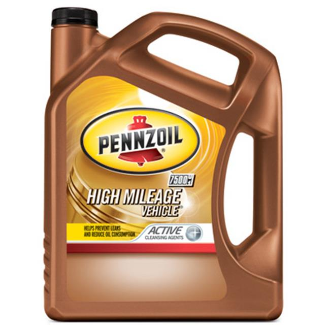 Pennzoil 550038340 5W30 High Mileage Vehicle Motor Oil - 5 qt., Pack of 3