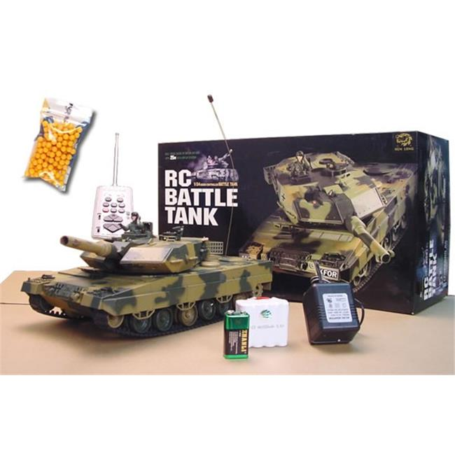 Azimport M1LP Military 16 in. 1-24 German Leopard RC Tank by Azimport