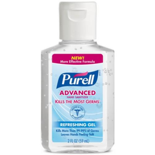 Purell Hand Sanitizer 2 oz (Pack of 2)