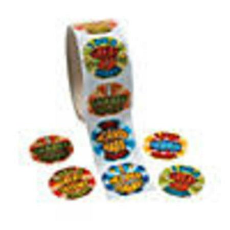 End of Day Reward Sticker Rolls](Rolls Of Stickers)