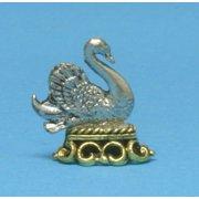 Dollhouse Swan Shelf Ornament