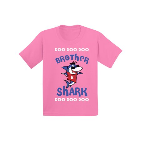 Awkward Styles Brother Shirt Family Brother Shark Youth Shirt Shark Family Shirts for Kids Matching Shark Tshirts for Family Shark Themed Party Outfit for Boys Cute Shark Tshirt for Boys