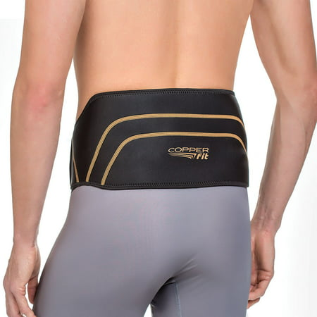 Lightweight Back Support - Copper Fit Back Support, size 39