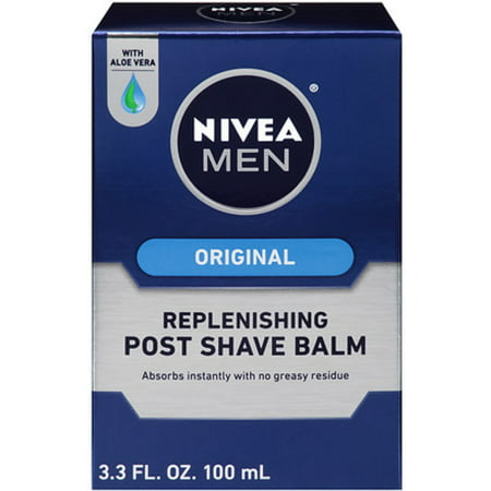 Shave Balm - NIVEA FOR MEN Replenishing Post Shave Balm 3.30 oz (Pack of 2)