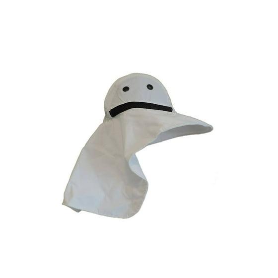 712bc910bdb Mega Cap - JUNIPER Womens White Wide Brim Outdoor Sun Flap Hat ...