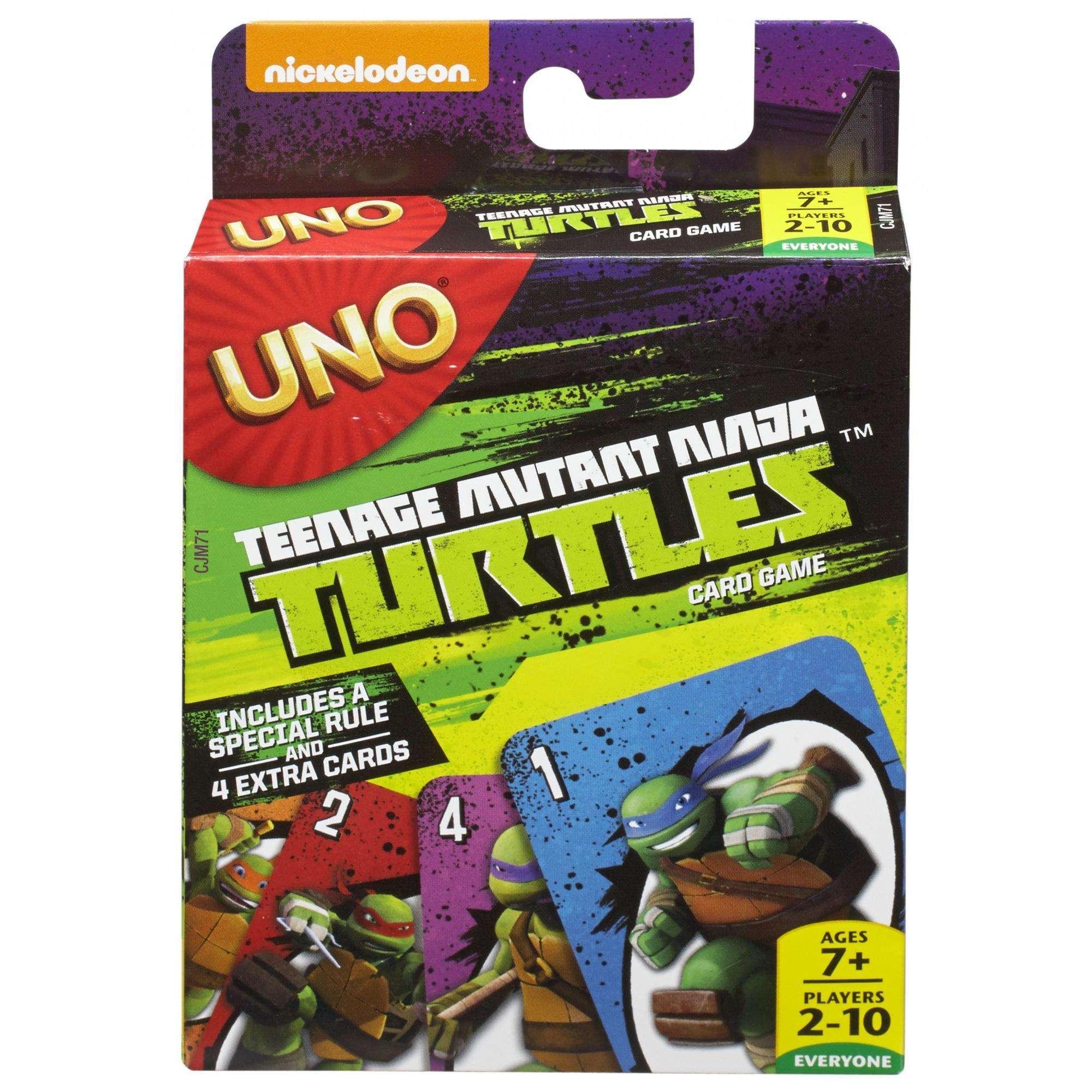 UNO Teenage Mutant Ninja Turtles