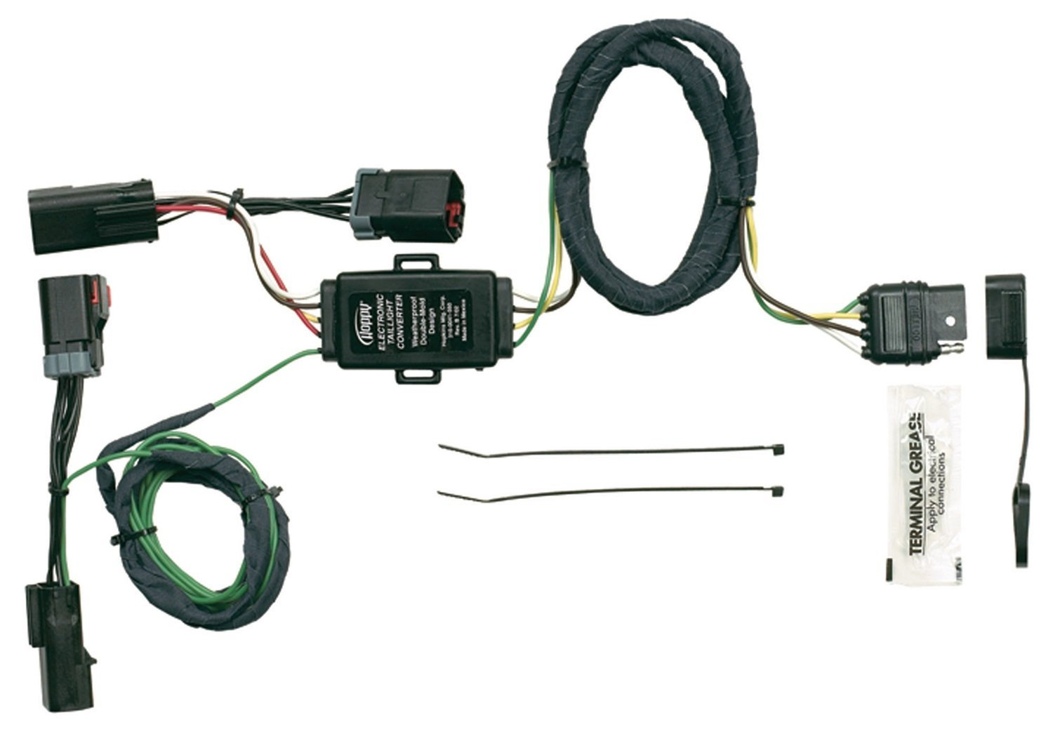 Hopkins 42215 Plug In Simple Vehicle Wiring Kit T Connectors Allow Harness You To Connect Your Trailers System Into Vehicles By