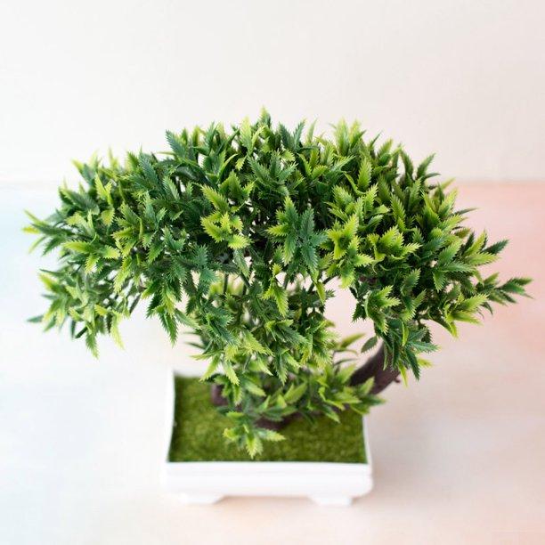 Simulation Fake Potted Bonsai Tree Artificial Plant Desk Ornament Home Decor Walmart Com Walmart Com