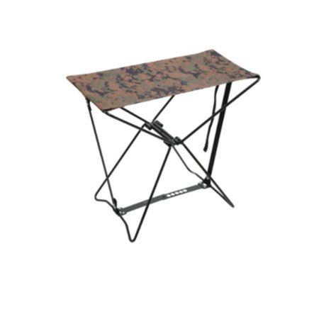 Camo Cami - Woodland Digital Camo folding Stool for Camp or Shop