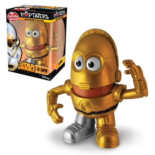 Star Wars C-3PO Poptaters Mr. Potato Head (Number of Pieces per case: 6) by