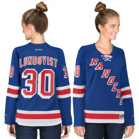 Henrik Lundqvist New York Rangers Reebok Women s Home Premier Jersey - Blue  - Walmart.com 184a98e41