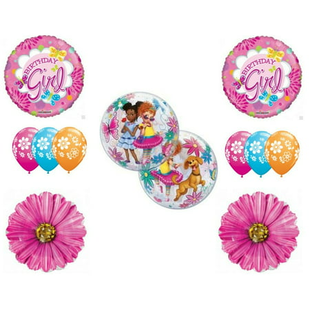 Fancy Nancy Birthday Party Balloons Decoration Supplies Clancy Daisys](Fancy Balloons)