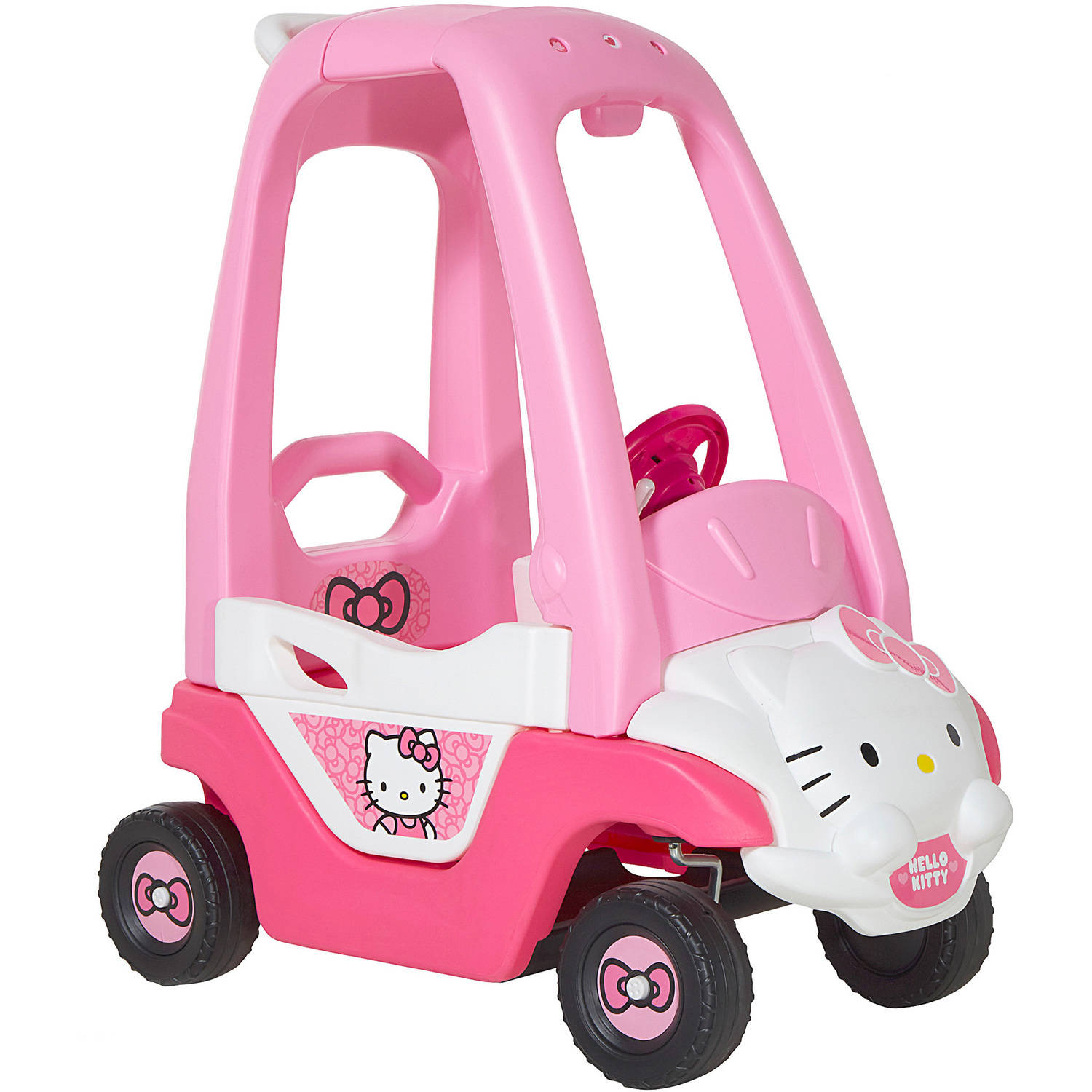 Dynacraft Hello Kitty Push-N-Play