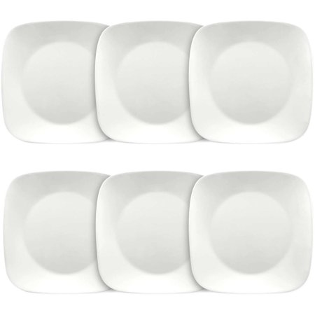 Corelle Square Pure White 9