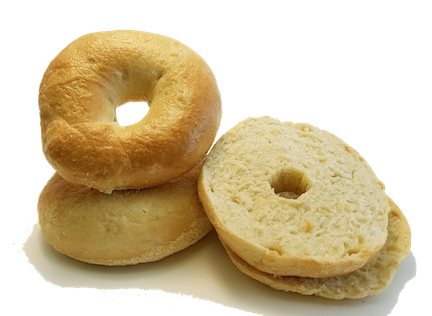 Roasted Garlic Bagels; 4-pack by Supplier Generic