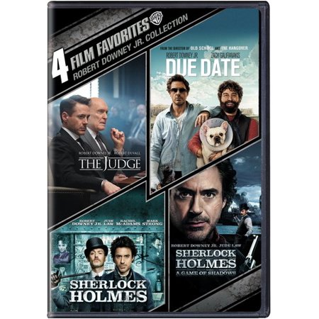 4 Film Favorites: Robert Downey Jr. (DVD) (Robert Downey Jr Best Actor)