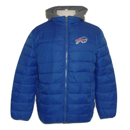 Buffalo Bills Men's Hooded Full Zip Puffer Jacket