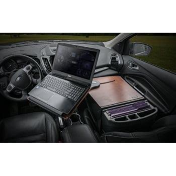 AutoExec AUE10016 Reach Front Seat Car Desk Mahogany Finish