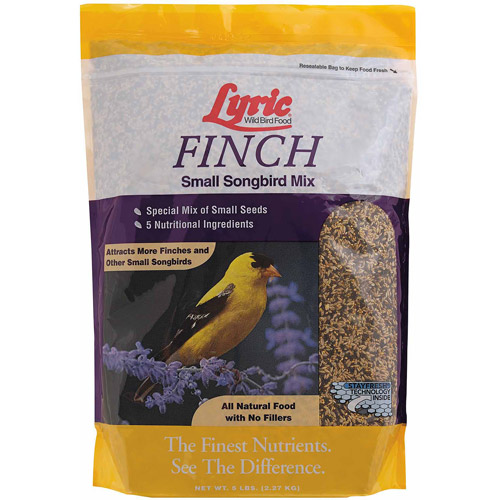 Lyric 5 lb Finch Wild Bird Mix