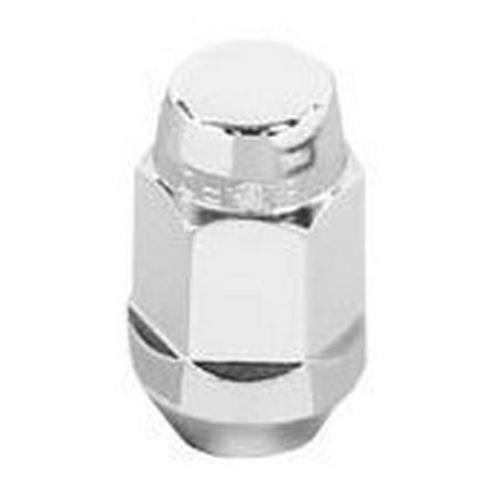 McGard 64013 Chrome Bulge Cone Seat Style Lug Nuts (M12 x 1.25 Thread Size) - Set of 4