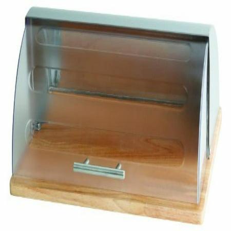 - Home Basics Bread Box, Acrylic and Wood
