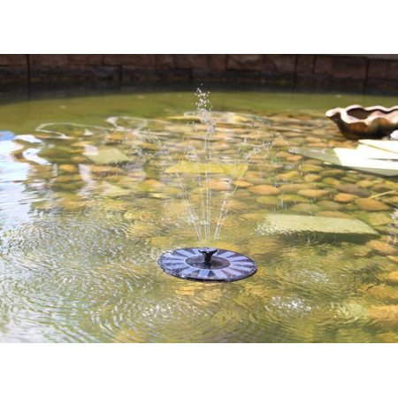 Victsing Solar Powered Water Pump Water Fountain Outdoor
