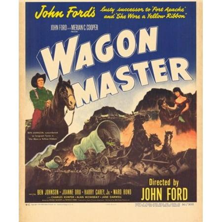Wagon Master Movie Poster (11 x 17)