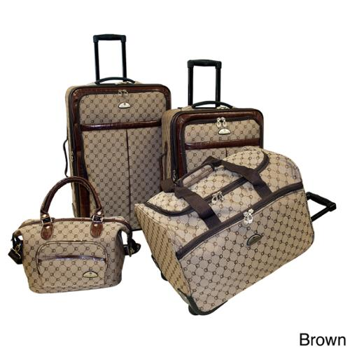 American Flyer Signature 4-piece Set Brown