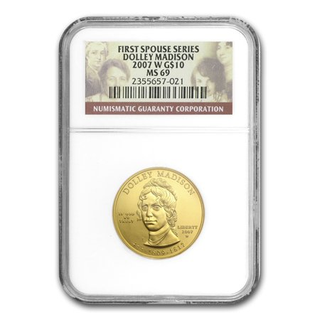 Gold Plated Commemorative Coin - 1/2 oz Gold First Spouse Coins MS-69 NGC (Random Year)