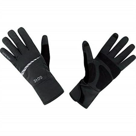 gore wear men's waterproof bike gloves, gore wear c5 gore-tex gloves, size: m, color: black, 100263 Gore Tex Under Glove