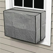 Vinyl Outside Window Air Conditioner Cover for Small Units Up to 10,000 BTU