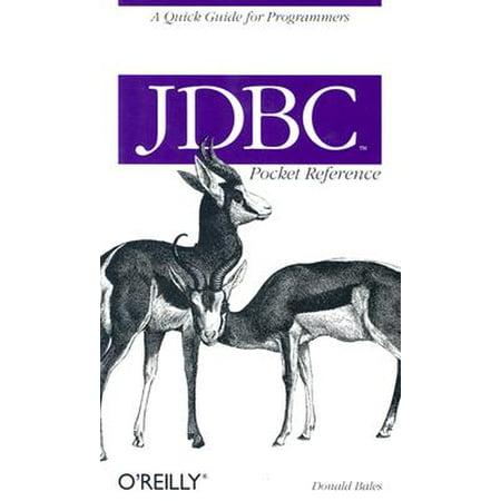 JDBC Pocket Reference