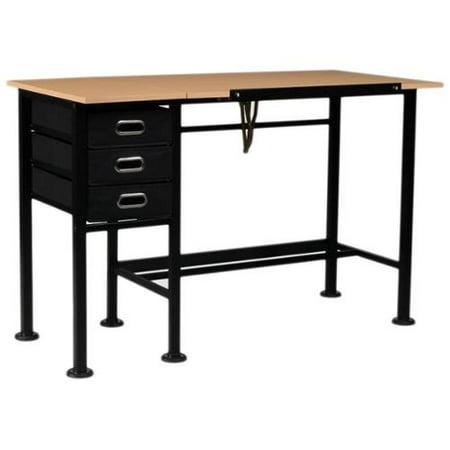 Sewing Machine Table Design : ... Design Dorchester Split-top Drafting and Sewing Machine Table