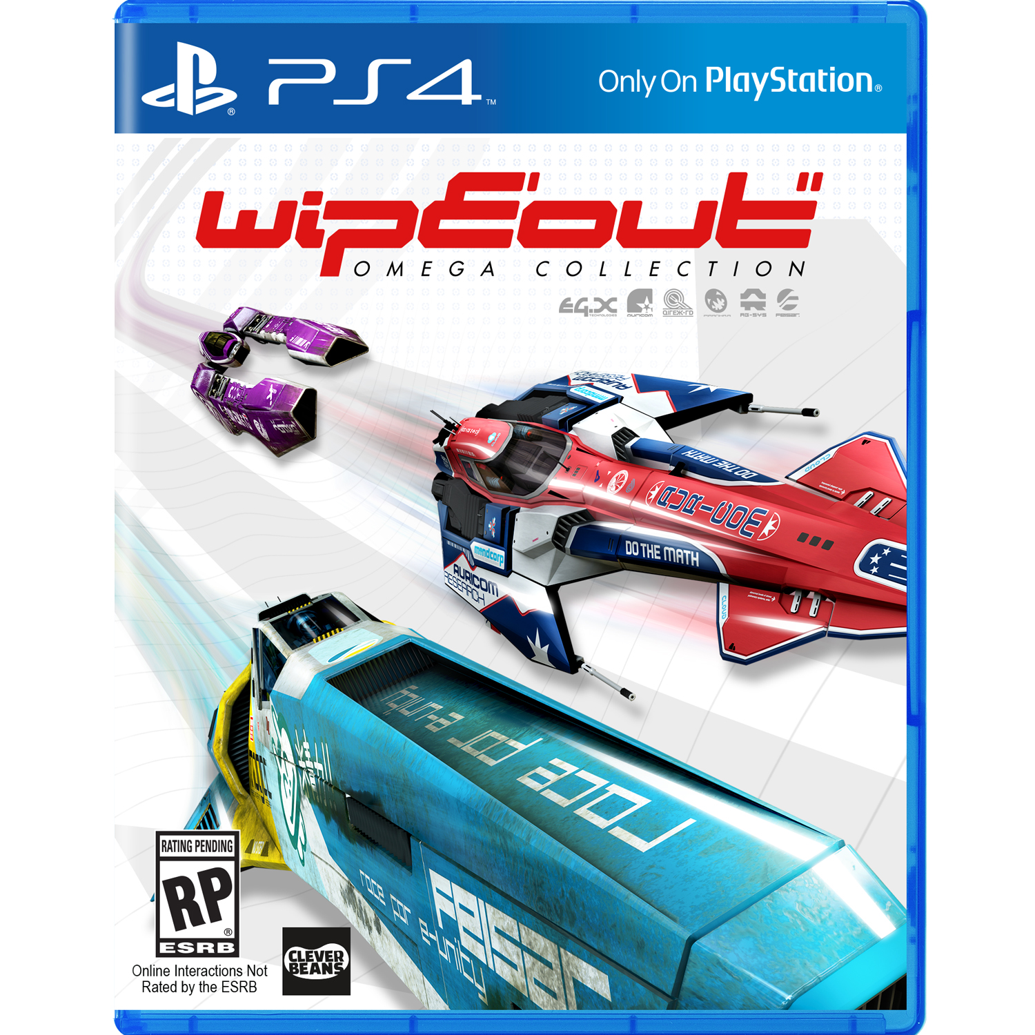 Wipeout Omega Collection, Sony, PlayStation 4, 711719509431 by Sony