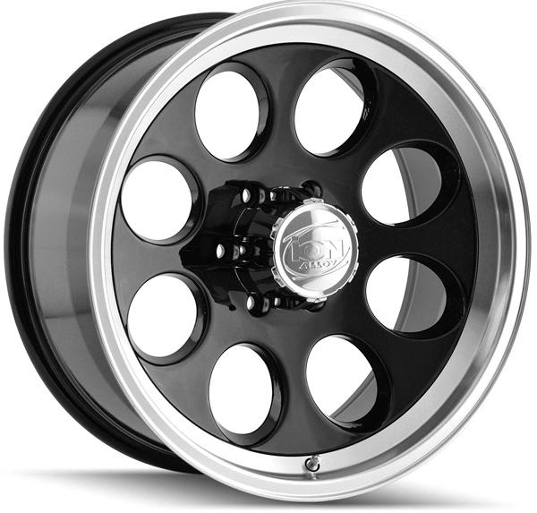 "ION 171 15x10 6x139.7/6x5.5"" -38mm Black Wheel Rim"