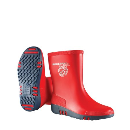 NEW YEAR SALE 50% OFF Dunlop Childrens Unisex Mini Waterproof Wellington Wellie Boot K131510 Size US 10 M | UK 9 | EU 27