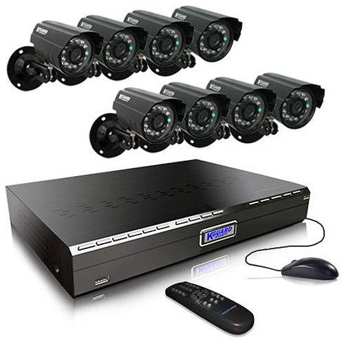 Kworld KGuard CA24-H03 Indoor/Outdoor 8-Channel Video Surveillance System