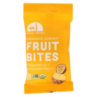 Mavuno Harvest 2416212 1.76 oz Organic Pineapple & Passionfruit Fruit Bites, Case of 8