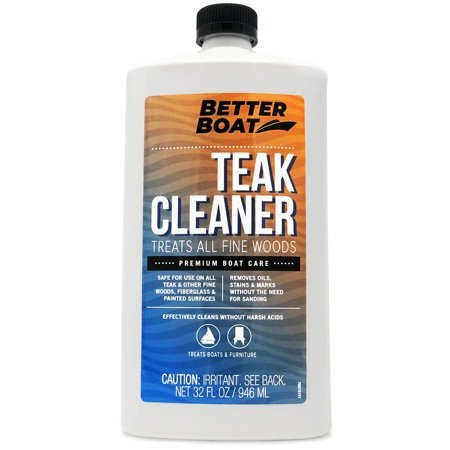 Teak Cleaner For Teak And Other Fine Woods Boats Cleaning Marine Stain Remover For Wood 32oz