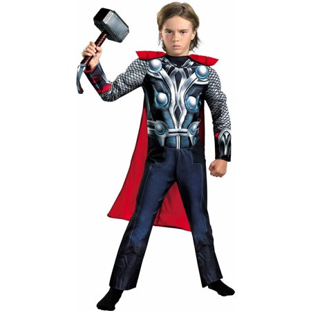 Thor Avengers Muscle Child Halloween Costume