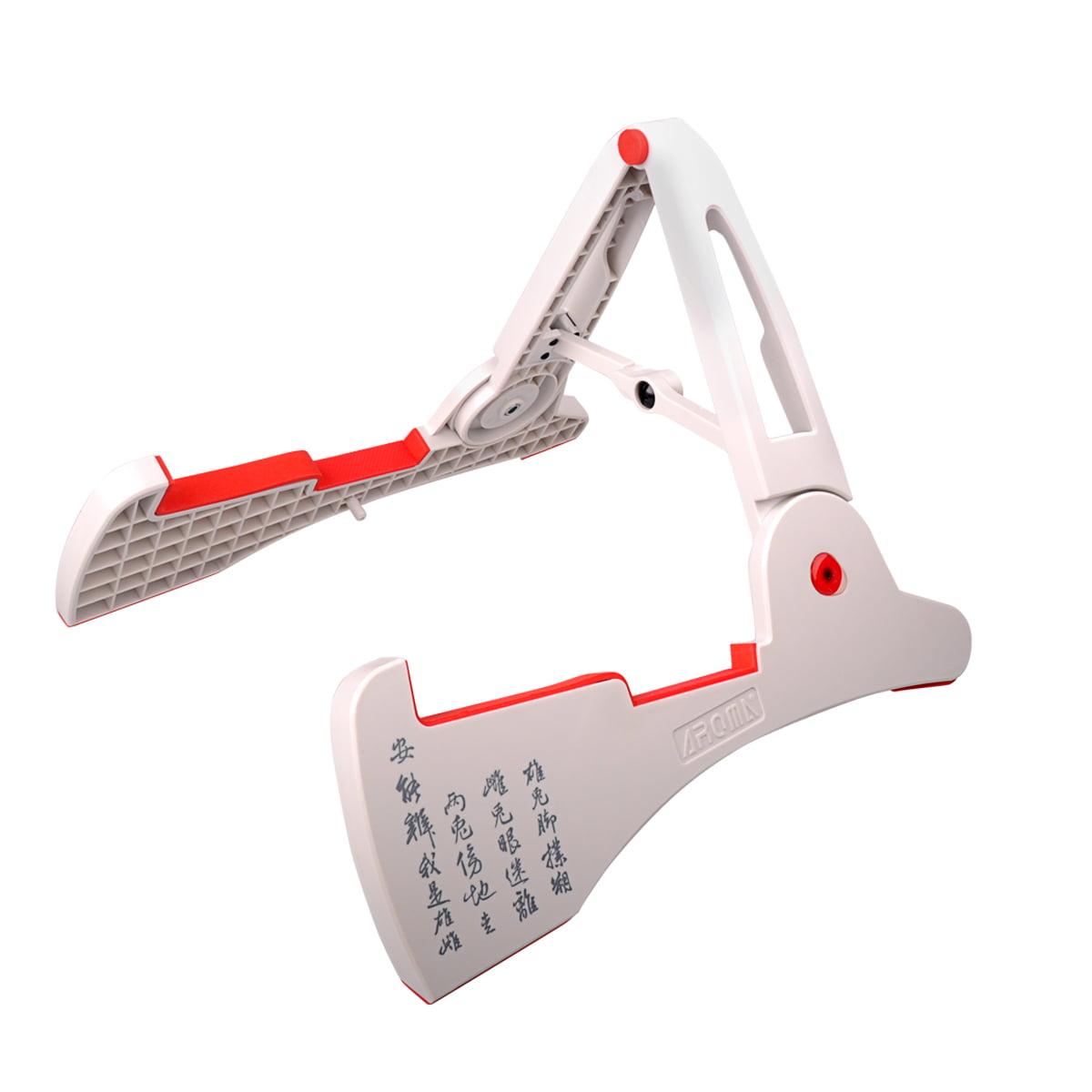 Guitar Ukulele Violin Mandolin Stand Frame Rack Portable Adjustable Collapsible For Pro... by LC Prime